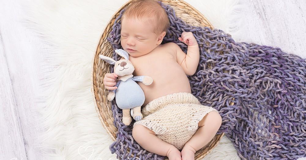 Willkommen im Leben, Milian! Neugeborenenfotos