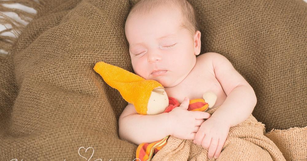 Willkommen im Leben, Lena! Neugeborenenfotos