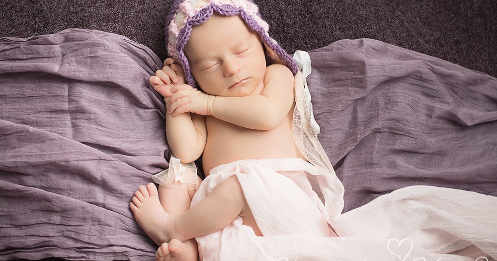 Willkommen im Leben, Milena! Neugeborenenfotos