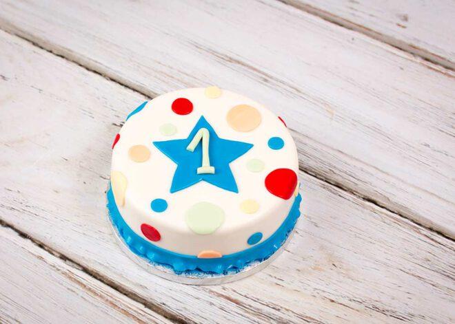 Smash Cake mit Punkten